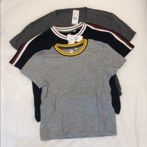 3 Brand New Pacsun Teeshirts
